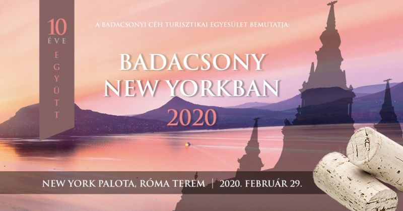 Badacsony New Yorkban 2020