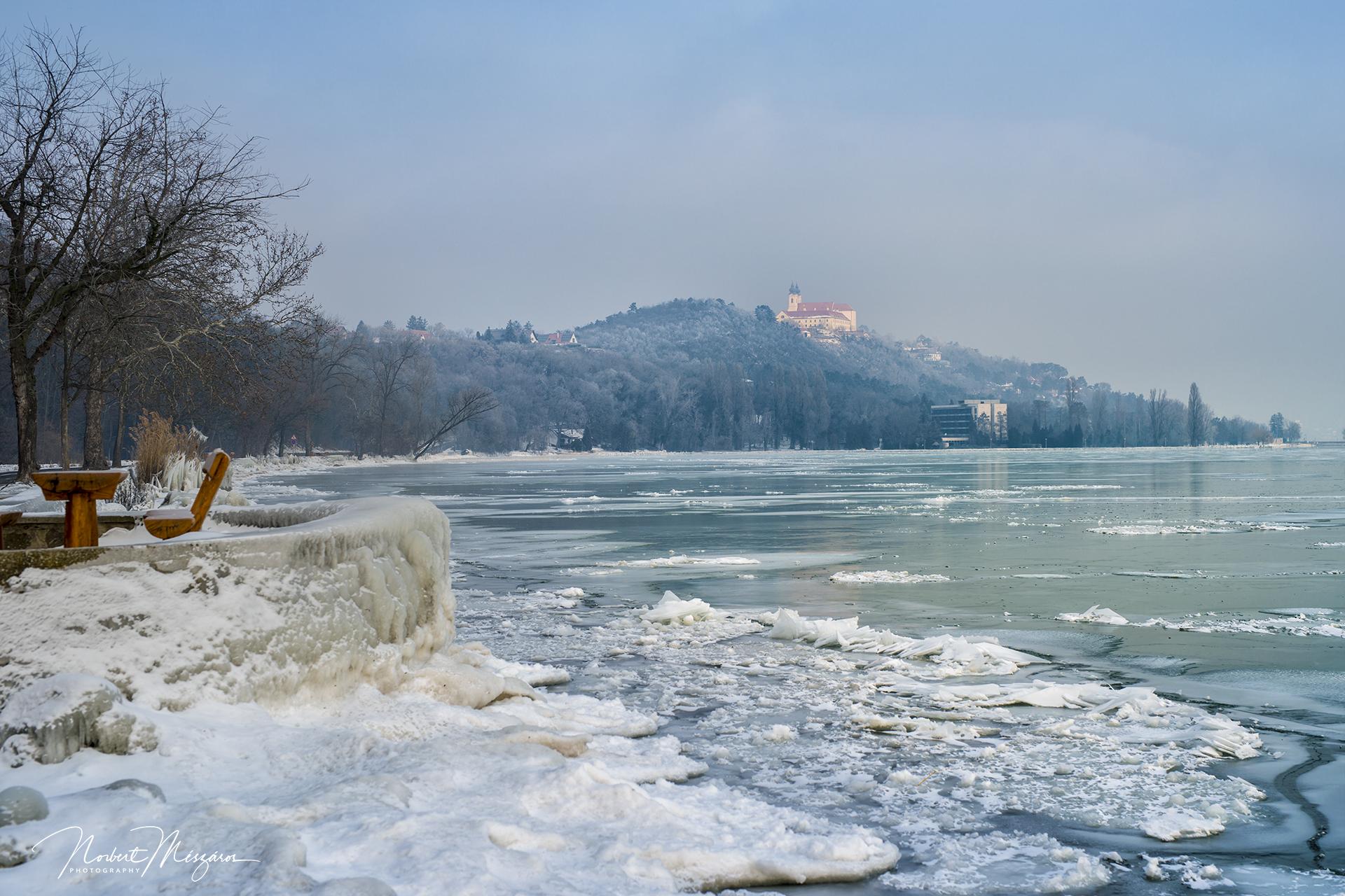 Téli Tihany- fantasztikus képek